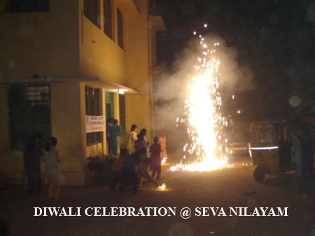 DIWALI CELEBRATION @ SEVA NILAYAM